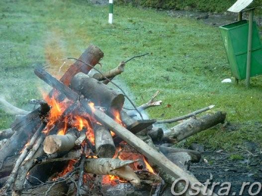 Focul la cabana