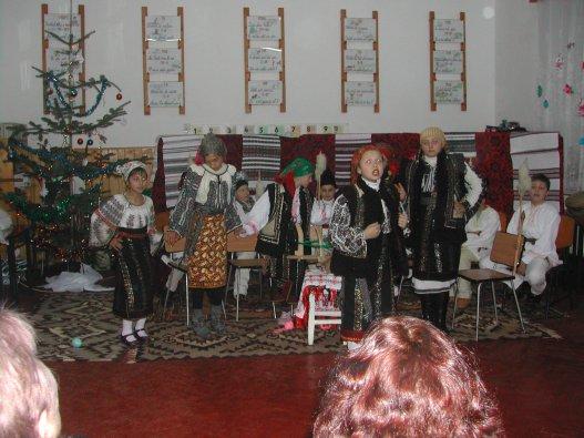 Serbare Crăciun 2011, clasa a-IVa A